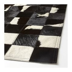 KORNUM Cow hide IKEA The cowhide is naturally durable and will last for many years. Living Room Redo, Living Room Carpet, Rugs In Living Room, Ikea, Cowhide Furniture, Home Depot Carpet, Square Rugs, Cow Skin, Patchwork Rugs