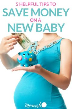 How to Save Money on Baby Stuff - Learn how new moms can save money on baby products and gear with these five simple tips! Ways To Save Money, Money Saving Tips, Money Tips, Good Parenting, Parenting Hacks, Baby On A Budget, Financial Tips, Everything Baby, Budgeting Tips