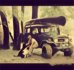 Toyota Fj40, Outdoor Life, Toyota Land Cruiser, Camping, Trucks, Wallpapers, Explore, Vehicles, Photography