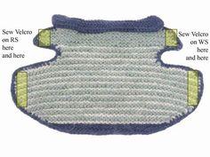 Subversive Knitting : <br><hr>Garter Stitch Dog Jacket by Annie Modesitt