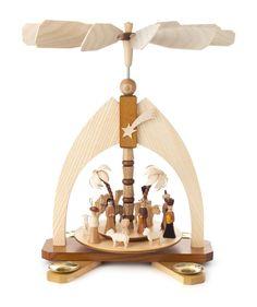 Pyramide mit Christi Geburt - Tischpyramiden (einstöckig) - online einkaufen | Dregeno Online Shop