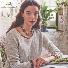 Introducing Botanica, c+i's Fall 2014 collection. Shop the stunning new jewels on my boutique today! ... www.chloeandisabel.com/boutique/noemilenette