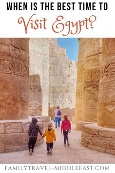 Best time to visit Egypt - Looking to plan a trip to Egypt? We talk you through the different climates and what to expect acr - Road Trip Planner, Beach Weather, Visit Egypt, Valley Of The Kings, Amazing Destinations, Travel Destinations, North Africa, Middle East, Trip Planning