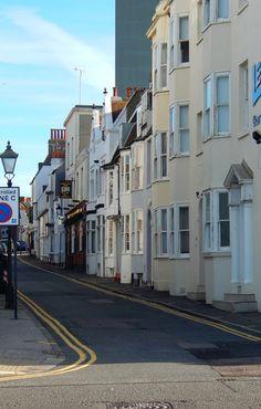 "fuckitandmovetobritain: "" Brighton, Brighton and Hove, England, UK "" Brighton And Hove, Britain, Street, World, Wales, Travel, Beautiful, Roads, Viajes"