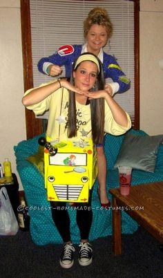 Fun Magic School Bus and Ms. Frizzle Halloween Costume | Ms ...