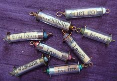Pat Winter Gatherings: Tube bead tutorial for friend