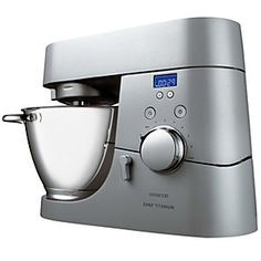 The Kenwood KM030 Timer Chef Mixer is an ultra-modern mixer with automatic timing settings and a variety of other settings and speeds.