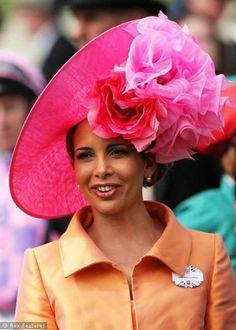 Princess Haya   The Royal Hats Blog