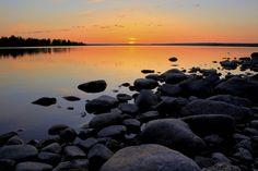 Northern Sweden Midnight Sun - Wall Mural & Photo Wallpaper - Photowall
