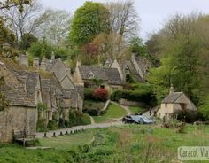 Bourton On The Water, Architecture, Scotland, Tourism, Beautiful Places, England, Europe, Cabin, Mansions