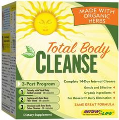 Organic Total Body Cleanse: Health & Personal Care