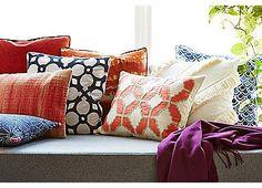 Indigo Floral 14X22 Pillow | One Kings Lane
