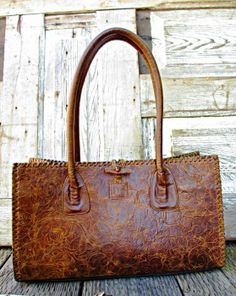 Juan Antonio tooled leather