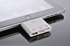 USB / SD slot for iPad
