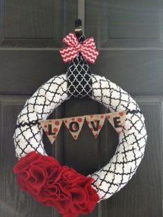 Valentine's Day Wreaths   Jane