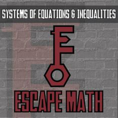 Bring Escape the Room action into your math classroom while building conceptual understanding! Like all of my content, the math content is the focus and the extra sparks engagement. Will your students solve all of the clues in time? To further amplify the excitement you can download free the Escape Math Android app or