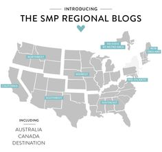 NEW Regional Wedding Blogs on Style Me Pretty! Take a peek: http://www.stylemepretty.com/2013/11/25/introducing-smp-regional-blogs
