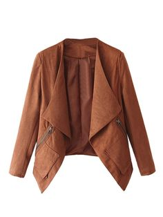 Suede blazer #FallWear