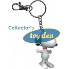 PEANUTS-SNOOPY BENDABLE POSEABLE  WITH KEYCHAIN