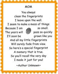 """finger print poem-cute for making  mothers/fathers day gifts at the daycare with the babies"""" data-componentType=""""MODAL_PIN"""