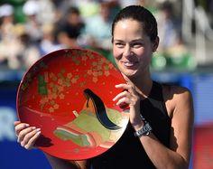 Ivanovic beat Wozniacki to win the Toray Pan Pacific Open in Tokyo