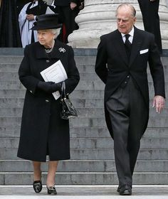 Her majesty the Queen, Prince Philip, funeral, Baroness Margaret Thatcher