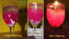 How to make a Gel Candle | DIY Party Mocktail/Cocktail Gel Candle | Stun...