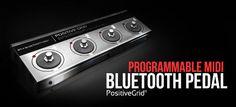 Positive Grid anuncia pedales controladores MIDI Bluetooth