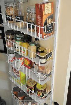 beautifully organized pantry, closet, organizing