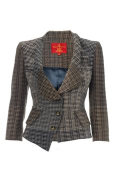 Vivienne Westwood - Foggy Tweed Alcoholic Jacket