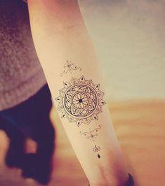 20 ideas de tatuajes mandala para expresar espiritualida0