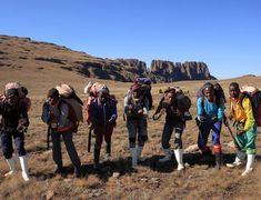 Why I hiked the Drakensberg Grand Traverse - Drakensberg Hiker George Clooney, Mountain Man, Bouldering, Lunges, Hiking, Walks, Trekking, Hill Walking