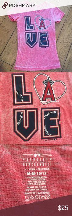 Anaheim angels t Shirt Women's medium MLB baseball Anaheim angels t Shirt Women's medium MLB baseball team athletics Tops Tees - Short Sleeve