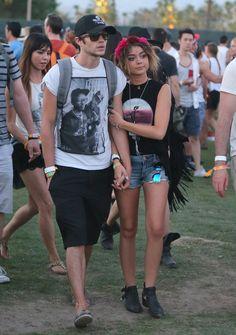 Sarah Hyland & Matt Prokop | The 21 Most Memorable Celebrity Couples Of Coachella