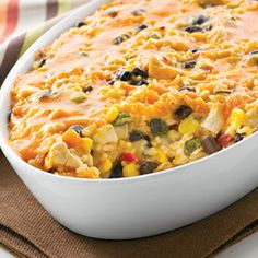 South-of-the Border Chicken and Rice Bake   http://shellymeyers.myarbonne.com/