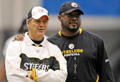 Mike Tomlin and Dick LeBeau