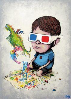 Dran - Fairy tale - More street art & graffiti : http://mescablog.com #streetart #art #graffiti #mescablog