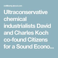 Ultraconservative chemical industrialists David and Charles Koch co-found Citizens for a Sound Economy (CSE). Bolstered by donations from Citibank, General Electric, General Motors, and Koch Industries, the organization promotes the paleoconservative fiscal policy agenda that will later be associated with the Tea Party movement.