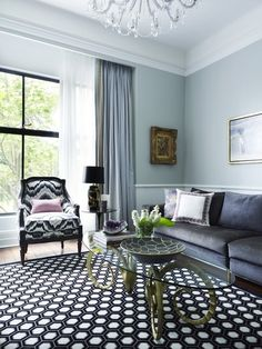 eclectic living room by Greg Natale