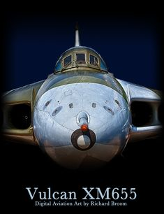 The Vulcan Poster Military Jets, Military Aircraft, Fighter Pilot, Fighter Jets, Car Brands Logos, Royal Air Force, V Force, Avro Vulcan, Navy Aircraft