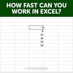 Just some quick Excel tips Excel Tips, Excel Hacks, Computer Shortcut Keys, Computer Basics, Computer Tips, Microsoft Excel Formulas, Microsoft Software, Microsoft Word, Microsoft Windows