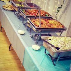 Wedding Food Ideas - Fun & Unique Foods - The DIY Lighthouse Unique and fun wedding food ideas for your wedding party or reception. Cake substitutions, food to serve guests, and more. Sweet and savory food ideas. Unique Wedding Food, Wedding Buffet Food, Wedding Dinner, Wedding Catering, Unique Weddings, Wedding Ideas, Dream Wedding, Wedding Quotes, Wedding Food Bars