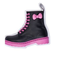 Hello Kitty Doc Martens-Gotta Find These for the Girls