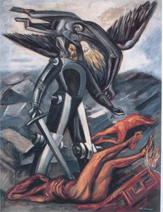 La Conquete  Jose Clemente Orozco. José Clemente Orozco (November 23, 1883 – September 7, 1949) was a Mexican social realist painter.