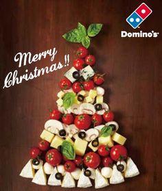 【メリークリスマス☆】 手軽なピザバーティーはいかが?  #ドミノピザ #ピザ #ひらけおいしさ #party #christmas #dominos #pizza #food #yum