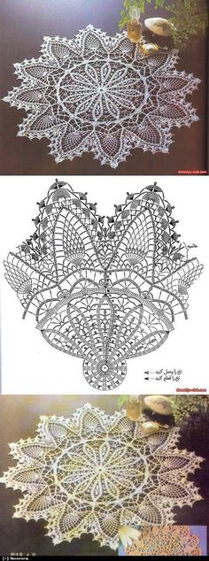 Captivating All About Crochet Ideas. Awe Inspiring All About Crochet Ideas. Filet Crochet, Crochet Doily Diagram, Crochet Doily Patterns, Crochet Art, Crochet Home, Thread Crochet, Crochet Motif, Vintage Crochet, Crochet Crafts