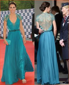 Google Image Result for http://www.beautynfashions.com/wp-content/uploads/Kate-Middleton-in-Teal-Dress-Gown.jpg-1.jpg