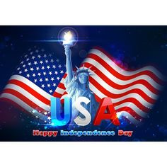 USA Flag Photography Backdrops Texture Photo for Independence Day Backdrop - Custom Size(Please Contact Seller)