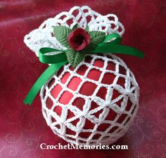 Work up some covers for existing Christmas ornaments! Our crochet cover is quick to work up and can be decorated in numerous ways. Make up some for family members or for quick gift-giving! This pos...