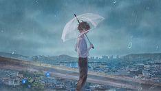 Anime Landscape, Fantasy Landscape, Anime Couples Drawings, Cute Anime Couples, Aesthetic Art, Aesthetic Anime, Estilo Tim Burton, Dark Anime Guys, Sad Pictures